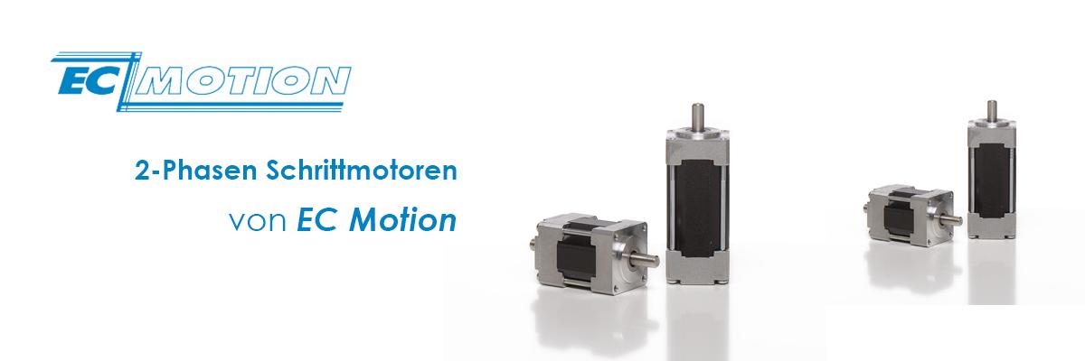 2-Phasen Schrittmotor mit versch. Flanschgrössen by EC Motion