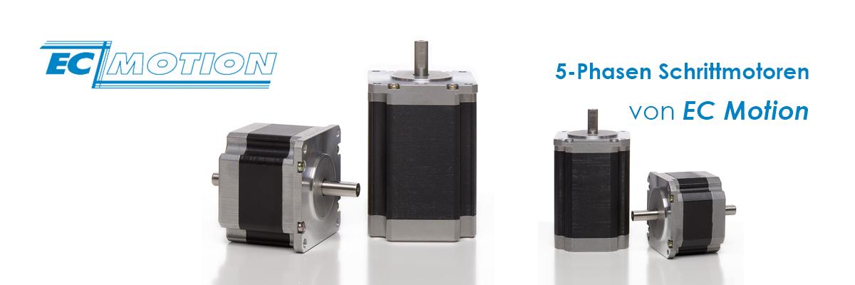 5-Phasen Schrittmotor mit versch. Flanschgrössen by EC Motion