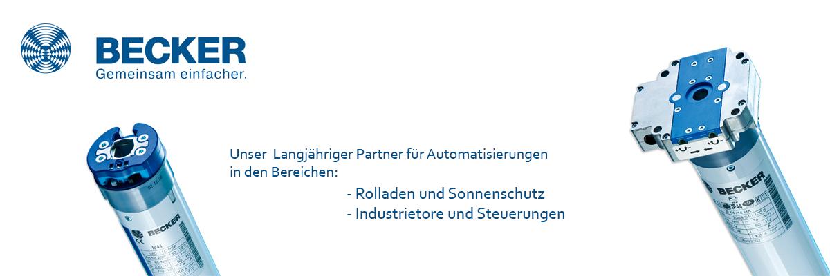 Garagentorantriebe / Steuerungen von becker-antriebe-partner.ch
