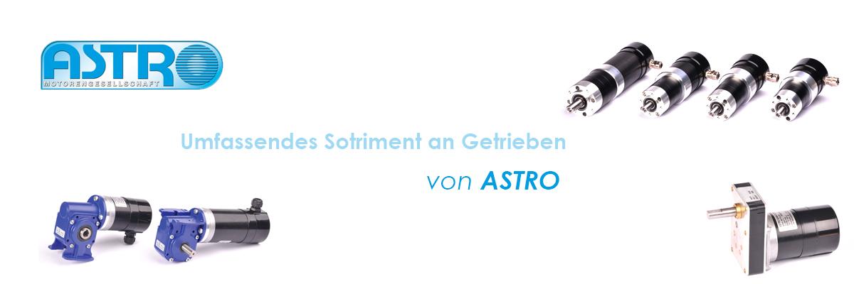 ASTRO Motoren – Getriebe