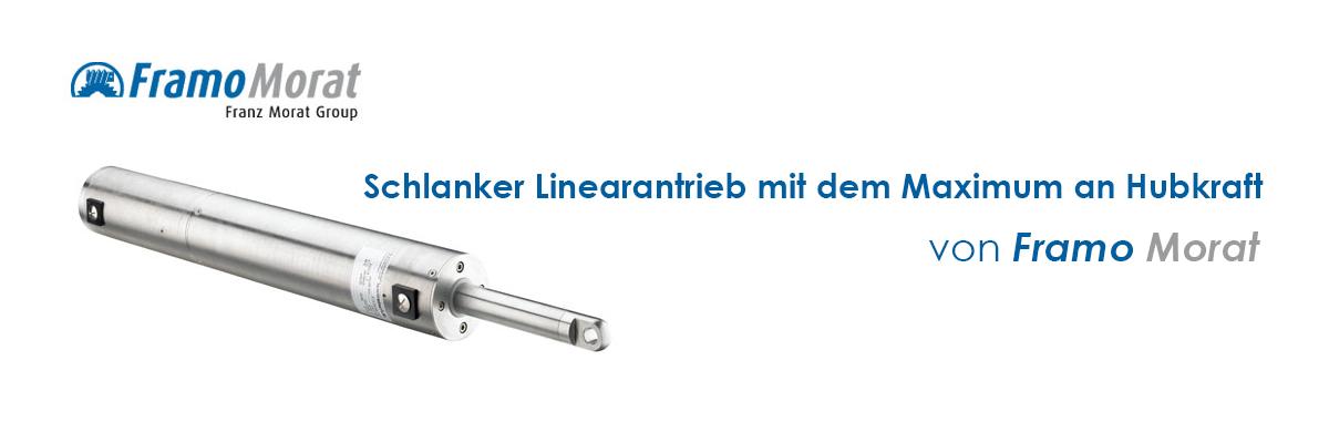 Kundenspezifische Hubspindelantriebe LiMax Antriebe von framo-morat.de by EC-Motoren GmbH