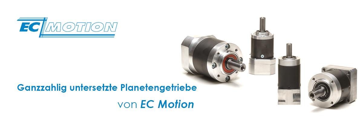 Planetengetriebe für Schrittmotoren by EC Motion