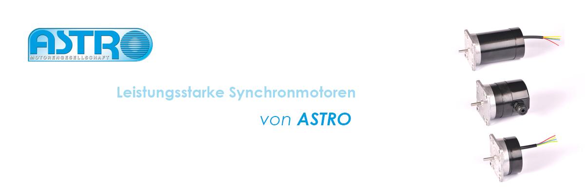 ASTRO Motoren – Synchronmotoren
