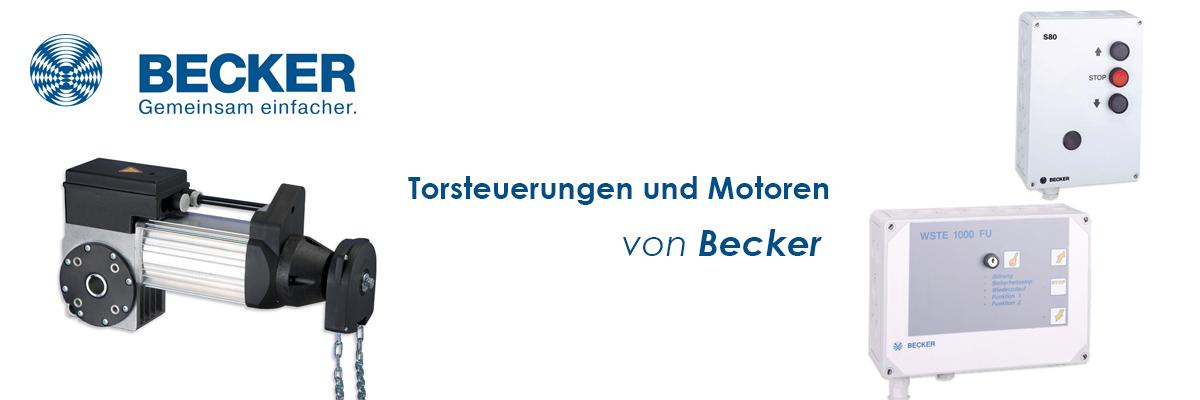 Torantriebe / Steuerungen von becker-antriebe-partner.ch