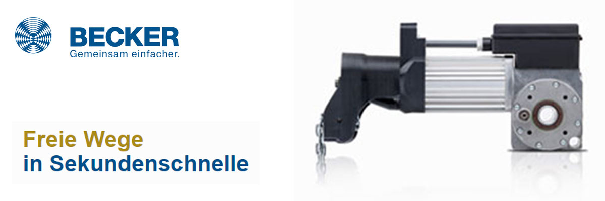 Torantriebe by EC-Motoren GmbH funktionieren kompromisslos und schnell.