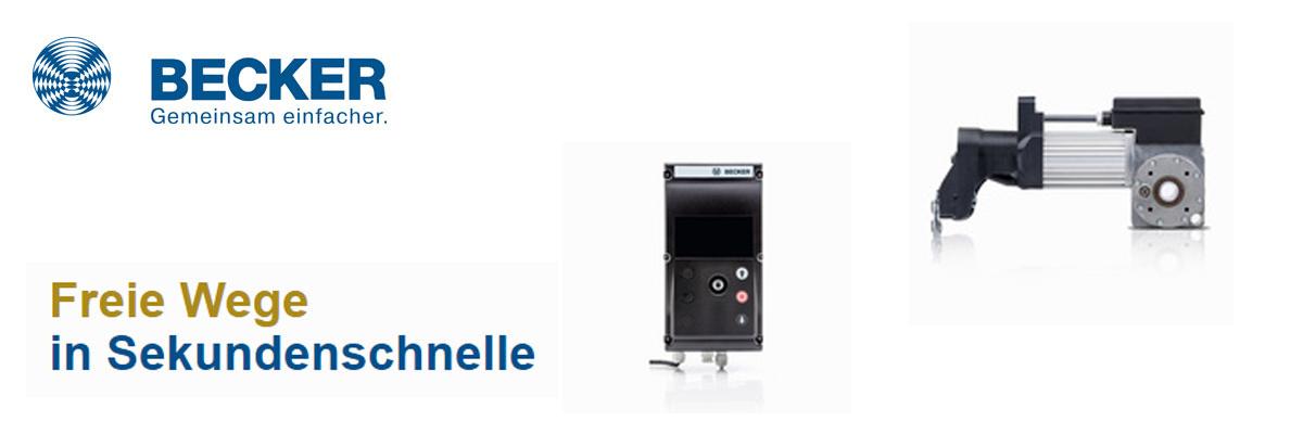 Torantriebe / Steuerungen von becker-antriebe-partner.ch by EC-Motoren GmbH
